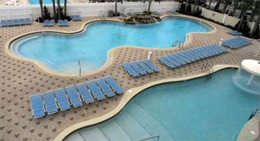 Majestic Beach Tower Condos Outdoor Pool